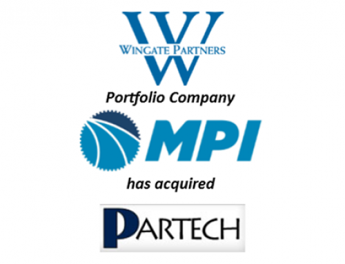 Wingate Portfolio Company MPI Products Acquires Partech Corporation